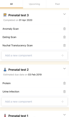 Prenatal Tests Screen