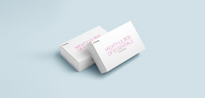 Curated pregnancy care box